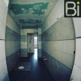 Casa Stelvio: Bagno in stile in stile Moderno di PROGETTO Bi