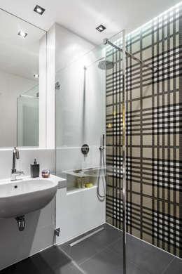 Ванные комнаты в . Автор – Anna Serafin Architektura Wnętrz
