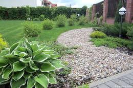 Гравийная дорожка в саду: Сад  в . Автор – Aster Garden