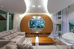 غرفة الميديا تنفيذ Arquiteto Aquiles Nícolas Kílaris