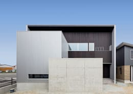 外観(昼景): 中村建築研究室 エヌラボ(n-lab)が手掛けた家です。
