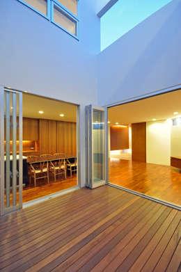 Giardino in stile in stile Moderno di 門一級建築士事務所