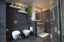 Projekty,  Łazienka zaprojektowane przez PROGETTO Bi