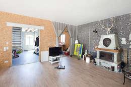 Projekty,  Salon zaprojektowane przez Müllers Büro
