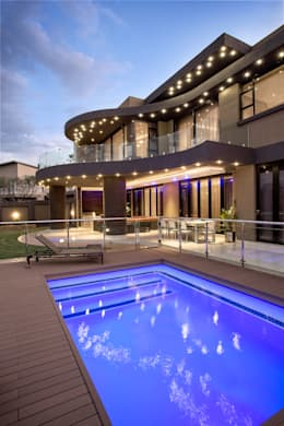 Residence Harris: modern Houses by FRANCOIS MARAIS ARCHITECTS