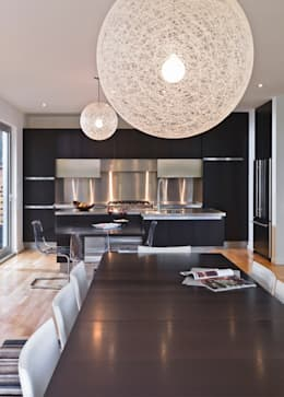 Lighthouse: modern Kitchen by Linebox Studio