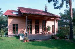 Müllers Büro: klasik tarz tarz Evler