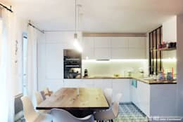 scandinavian Kitchen by Belle Ville Atelier d'Architecture