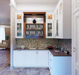 Projekty,  Kuchnia zaprojektowane przez ЙОХ architects