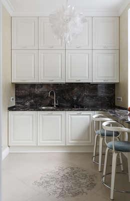 مطبخ تنفيذ design studio by Mariya Rubleva