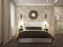 modern Bedroom by design studio by Mariya Rubleva