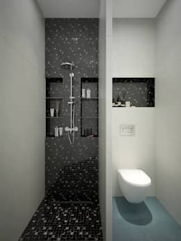 modern Bathroom by design studio by Mariya Rubleva