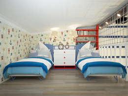 modern Nursery/kid's room by design studio by Mariya Rubleva