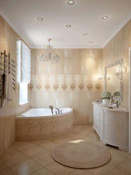 حمام تنفيذ design studio by Mariya Rubleva
