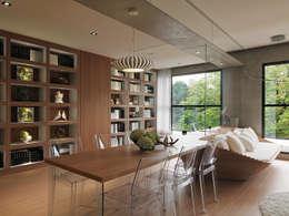 modern Dining room by 形構設計 Morpho-Design