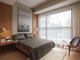 غرفة نوم تنفيذ 形構設計 Morpho-Design