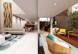 Ruang Keluarga by canatelli arquitetura e design