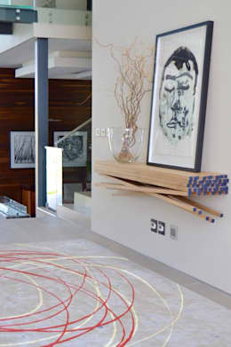 Residential - Steyn City :  Corridor & hallway by Nowadays Interiors