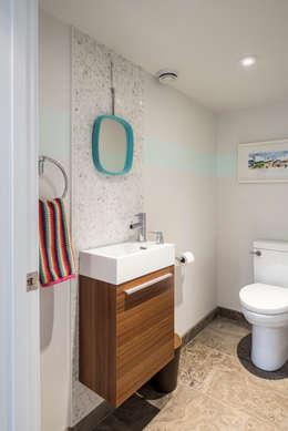 Ванные комнаты в . Автор – BLDG Workshop Inc.