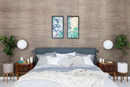 modern Bedroom تنفيذ Black and Milk | Interior Design | London