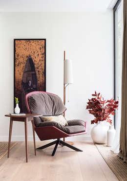 غرفة المعيشة تنفيذ Black and Milk | Interior Design | London