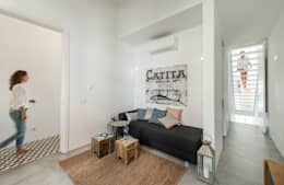 Dormitorios de estilo minimalista por studioarte