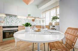 Cocinas de estilo escandinavo por homify
