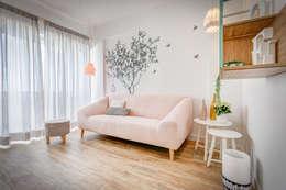 scandinavian Living room by Homestories