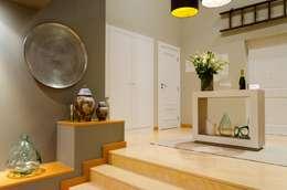 A touch of SA interior in Portugal:  Corridor & hallway by Kim H Interior Design
