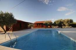 country Pool by ECOSITANA - Casas de Madeira Portugal