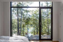 Спальни в . Автор – Flynn Architect