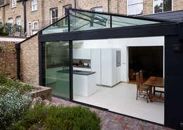 External Photo : modern Kitchen by Trombe Ltd