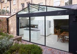 External Photo - Doors: modern Kitchen by Trombe Ltd