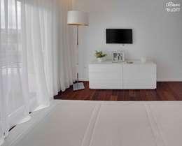 غرفة نوم تنفيذ B.loft