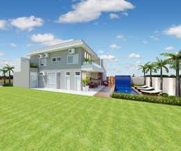 modern Houses by Arquiteto Tales Miranda