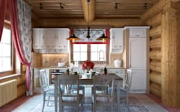 rustic Kitchen by rudakova.ru