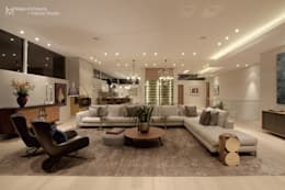 Hove Road : modern Living room by Make Architects + Interior Studio