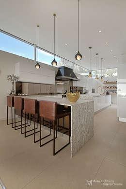 Hove Road : modern Kitchen by Make Architects + Interior Studio