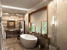 Projekty,  Łazienka zaprojektowane przez LEO Company