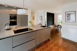 Projekty,  Kuchnia zaprojektowane przez Architektur Jansen