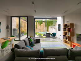 modern Living room by The Crawford Partnership