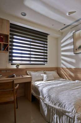 modern Nursery/kid's room by DYD INTERIOR大漾帝國際室內裝修有限公司