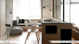 modern Study/office by iDiD點一點設計