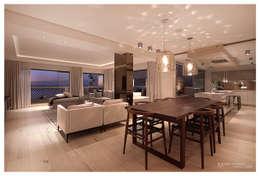Costa Brava: modern Living room by Make Architects + Interior Studio