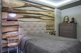 Dormitorios de estilo rústico por АртЭрия