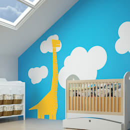 Dormitorios infantiles  de estilo  por Inkmill Vinyl