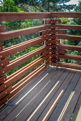 Balustrade Detail:  Patios by WHO DID IT
