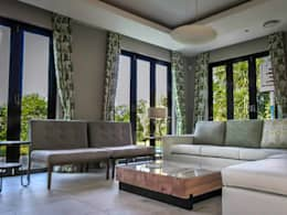 Living Room: modern Living room by WHO DID IT