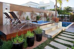 Projekty, nowoczesne Spa zaprojektowane przez ANDRÉ PACHECO ARQUITETURA