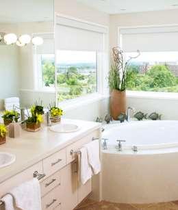 Benchscape: modern Bathroom by Lex Parker Design Consultants Ltd.